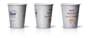 Sun Federal Credit Uniom-Cups CUSTOM PAPER CUPS www.custompapercup.com #brandawareness #restaurantmarketing