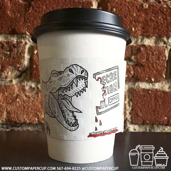 dragon timbercharter scary bloody double wall cup