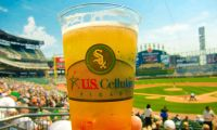 Custom Beer Cups Chicago White Sox
