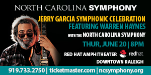 NC Symphony presents Jerry Garcia Symphonic Celebration on June 20