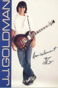 JJG alias Jean-Jacques Goldman en 1981...
