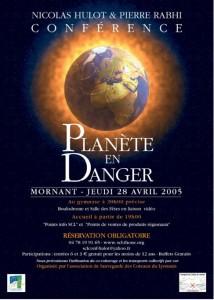 Planète en danger