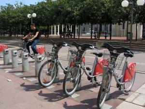 Les Vélo'V lyonnais