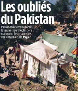 Le Pakistan à la une de Libé