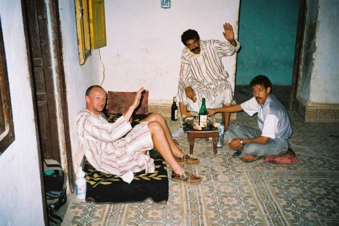 Chez Hassan à Guelmim, pour une soirée inoubliable...