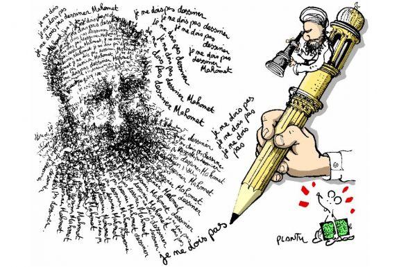 L'affaire des caricatures de Mahomet vue par Plantu