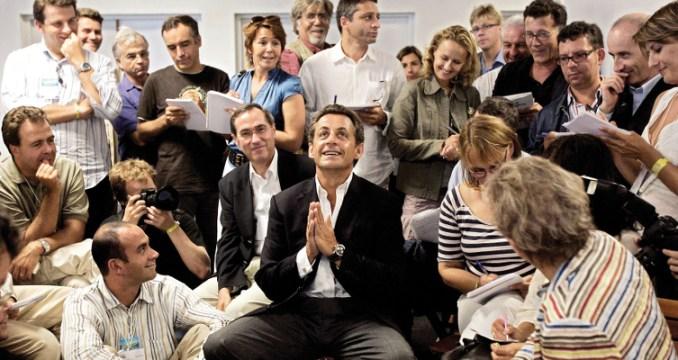 Nicolas Sarkozy, touché par la grâce...