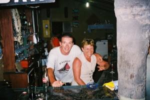Avec Tata au bar du Cormoran