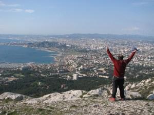 Mon voisin au sommet de Marseilleveyre...