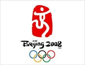 Logo officiel des JO Beijing 2008