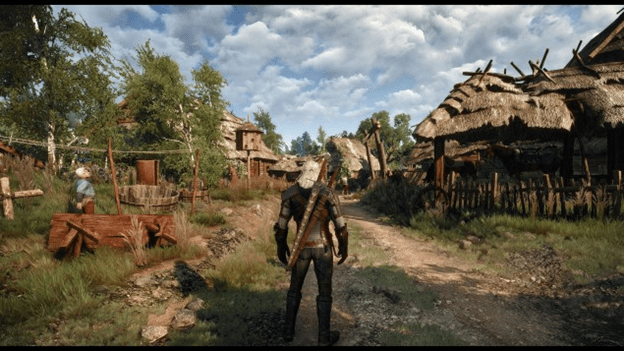 Wild Hunt, Witcher 3 for  4K Gaming PC