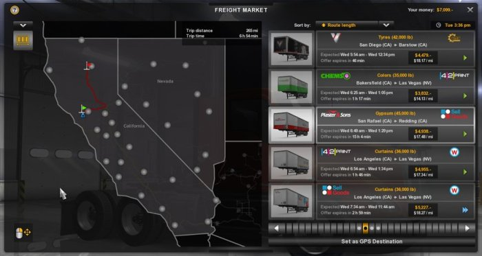 American truck simulator helps in building up your own truck company
