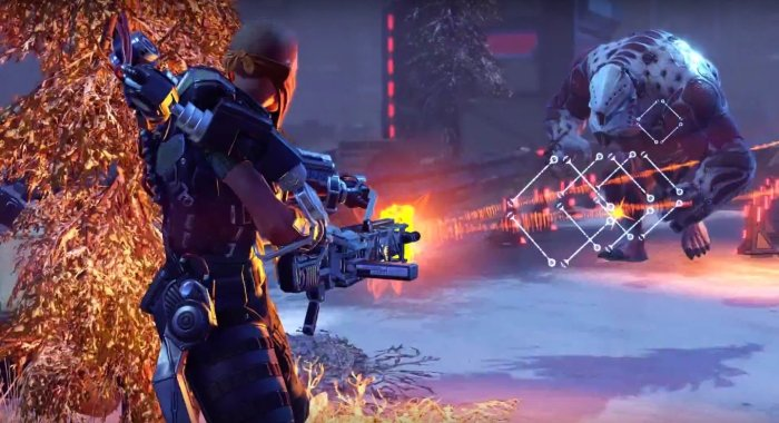 XCOM 2 graphics while played on gaming pc