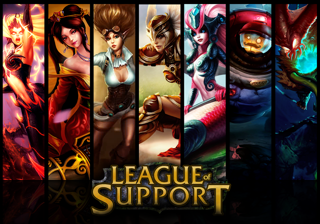 What Playing Support Feel Like in League of Legends
