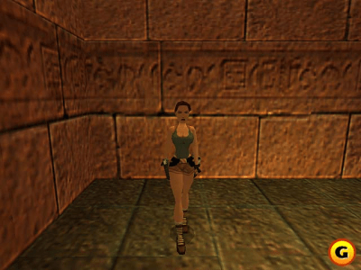 TOMB RAIDER-THE LAST REVELATION (1999) and TOMB RAIDER-CHRONICLES (2000) in game Look