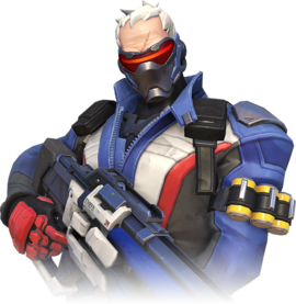 Play soldier 76 in your gaming pc.