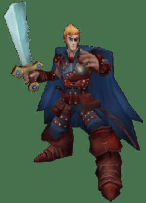 Rock Blackblade, The Dashing Rogue
