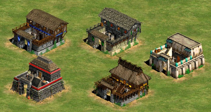 Age of Empires Barracks