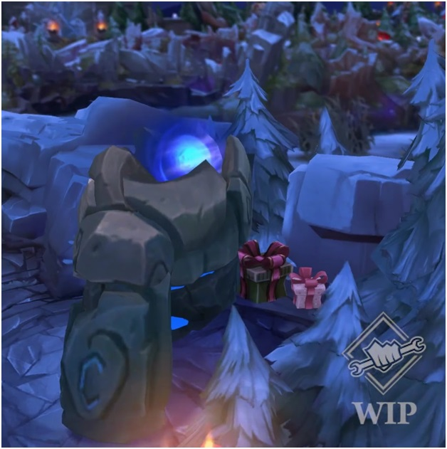 league of legends snow showdown blue sentinel