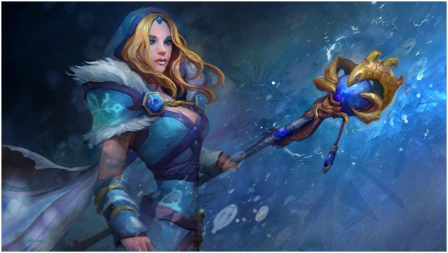 Crystal Maiden From Dota2