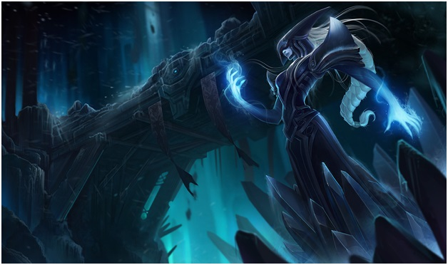 Lissandra One of League of Legend Champions