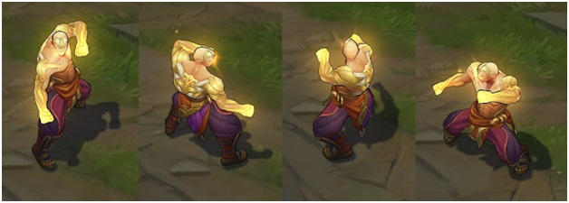 God Fist Lee Sin Model