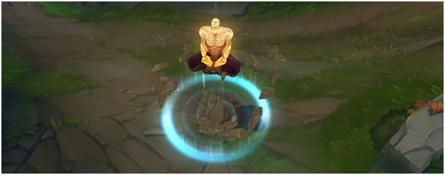 God Fist Lee Sin Recall Animation