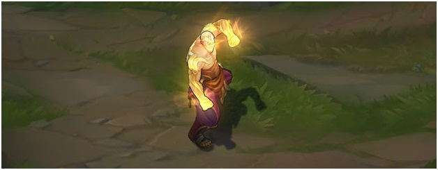 God Fist Lee Sin Texture