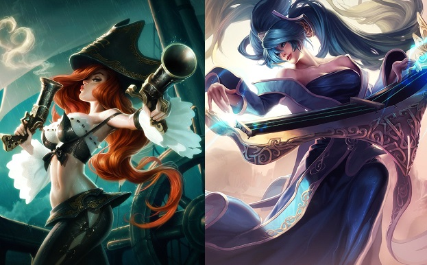 Miss Fortune and Sona