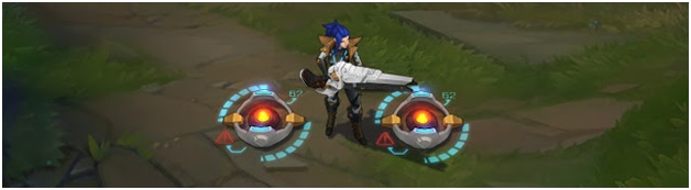 Pulsefire Caitlyn In-Game Look