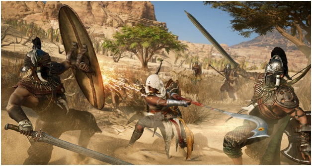 AC Origins Gameplay