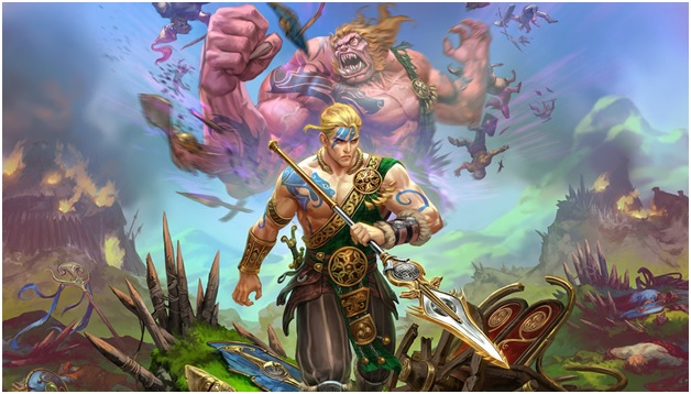 Cu Chulainn - New Smite God