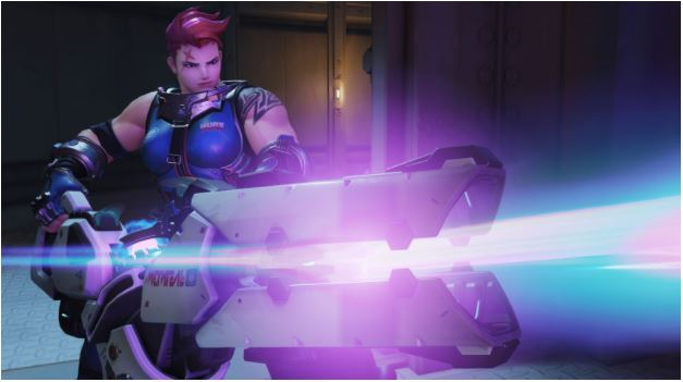 Zarya, the strongest of them all.