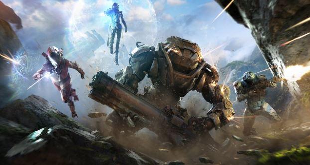 Anthem Juggernaut Gaming PC Game Play