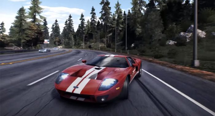 Need for Speed as played in a gaming pc