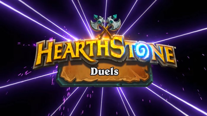 hearthstone duels