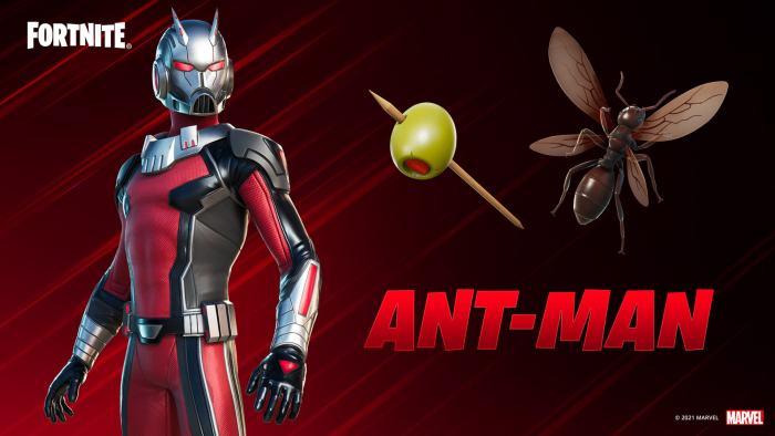 Antman Fortnite Update