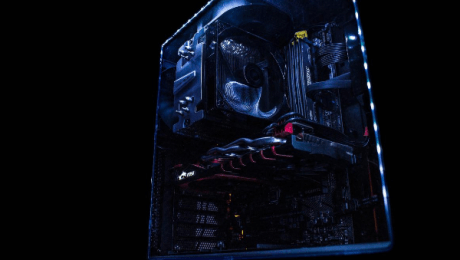 An overclocked PC from Cyberpower