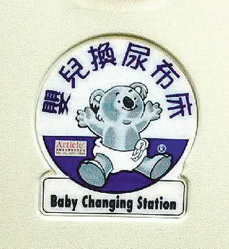 史前館翻譯出包 尿布台變換嬰兒