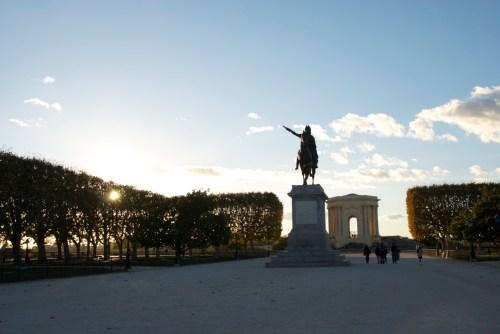 Esplanade du Peyrou @ Montpellier, France (20.10.2010)