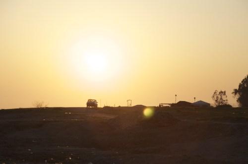 Coucher de soleil, Alanya (Turquie - 13 avril 2013)