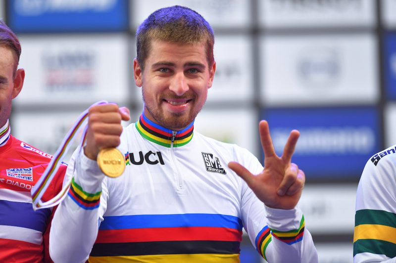 Peter Sagan World Champion... Again.