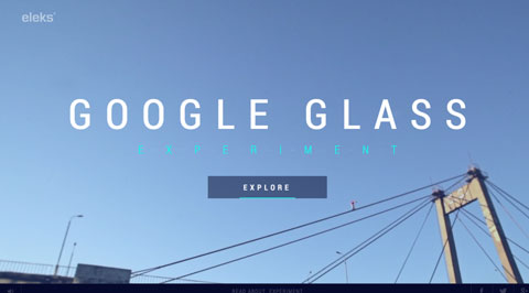 Google Glass Experiment 1