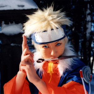 Cosplay of naruto