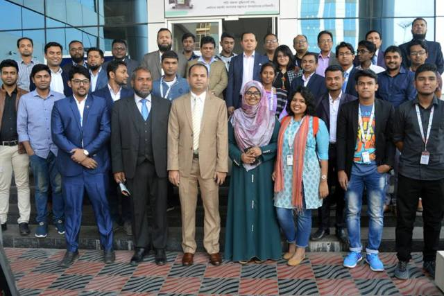 Department of Innovation and Entrepreneurship, DIU, organized an industrial visit and tour