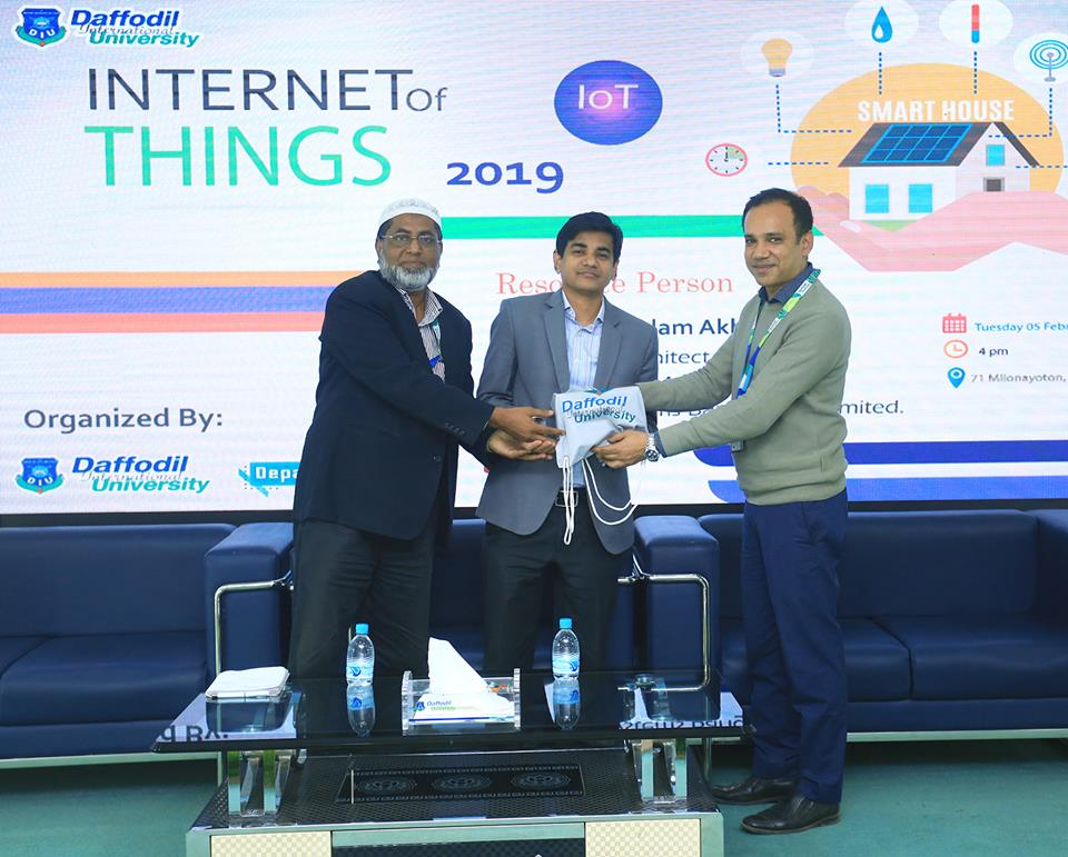 Internet of things 2019 Organized by The Department of Computer