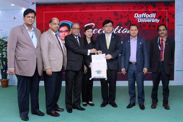 Warm Reception to Dr. Pornchai Mongkhonvanit, President, Siam University, Bangkok, Thailand