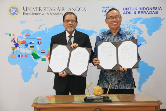 DIU signed a partnership agreement with a leading university in Indonesia