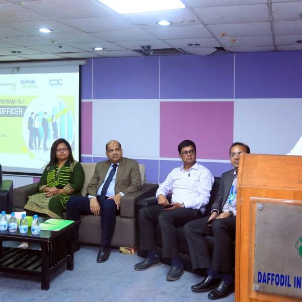 Career Development Center (CDC) of Daffodil International University and Peoplescape Ltd. jointly organized the Spot Recruitment Program
