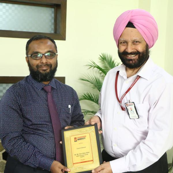 Faculty Exchange Program at Chandigarh University